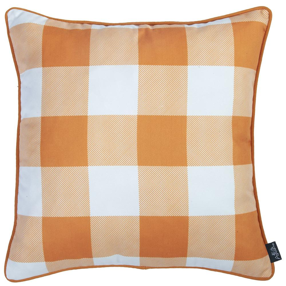 """Set of 4 18"""" Fall Season Pumpkin Throw Pillow Cover in Multicolor - 376866. Picture 3"""