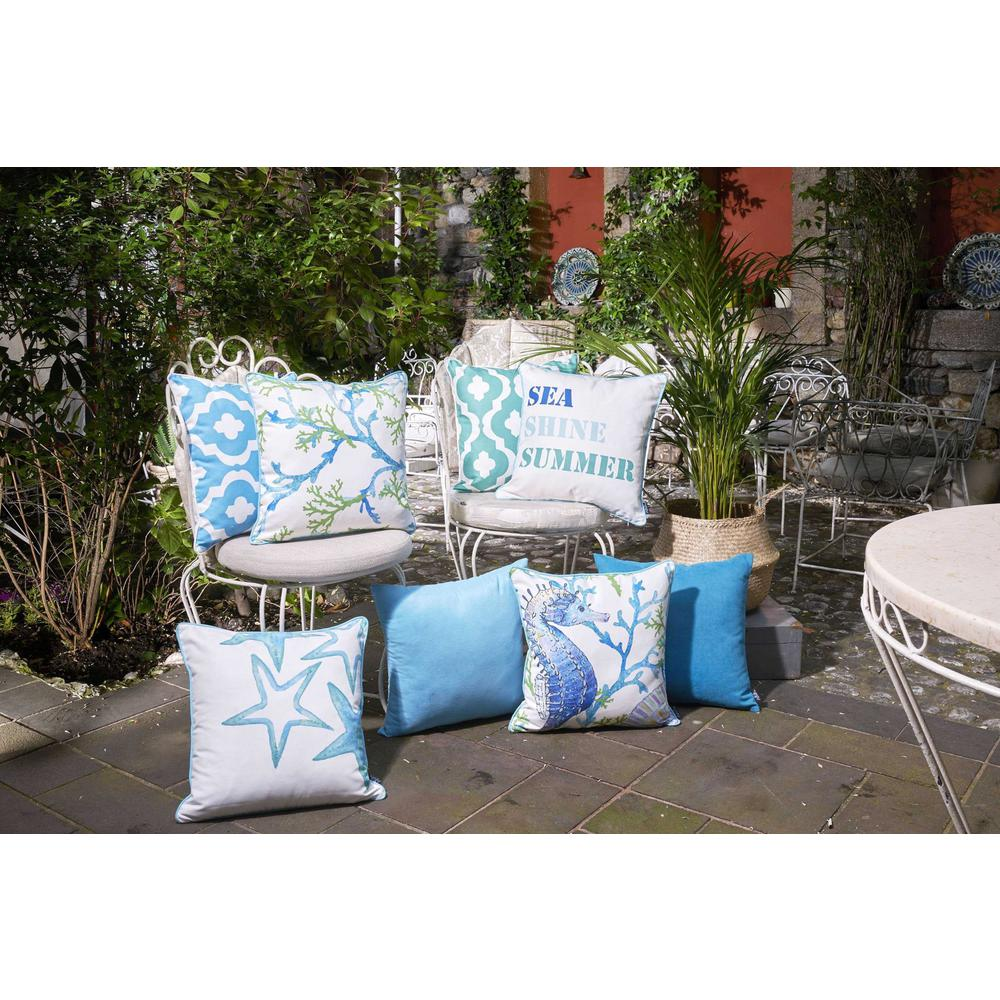 Set of 2 Sea Shine Summer Throw Pillow Covers - 376889. Picture 4