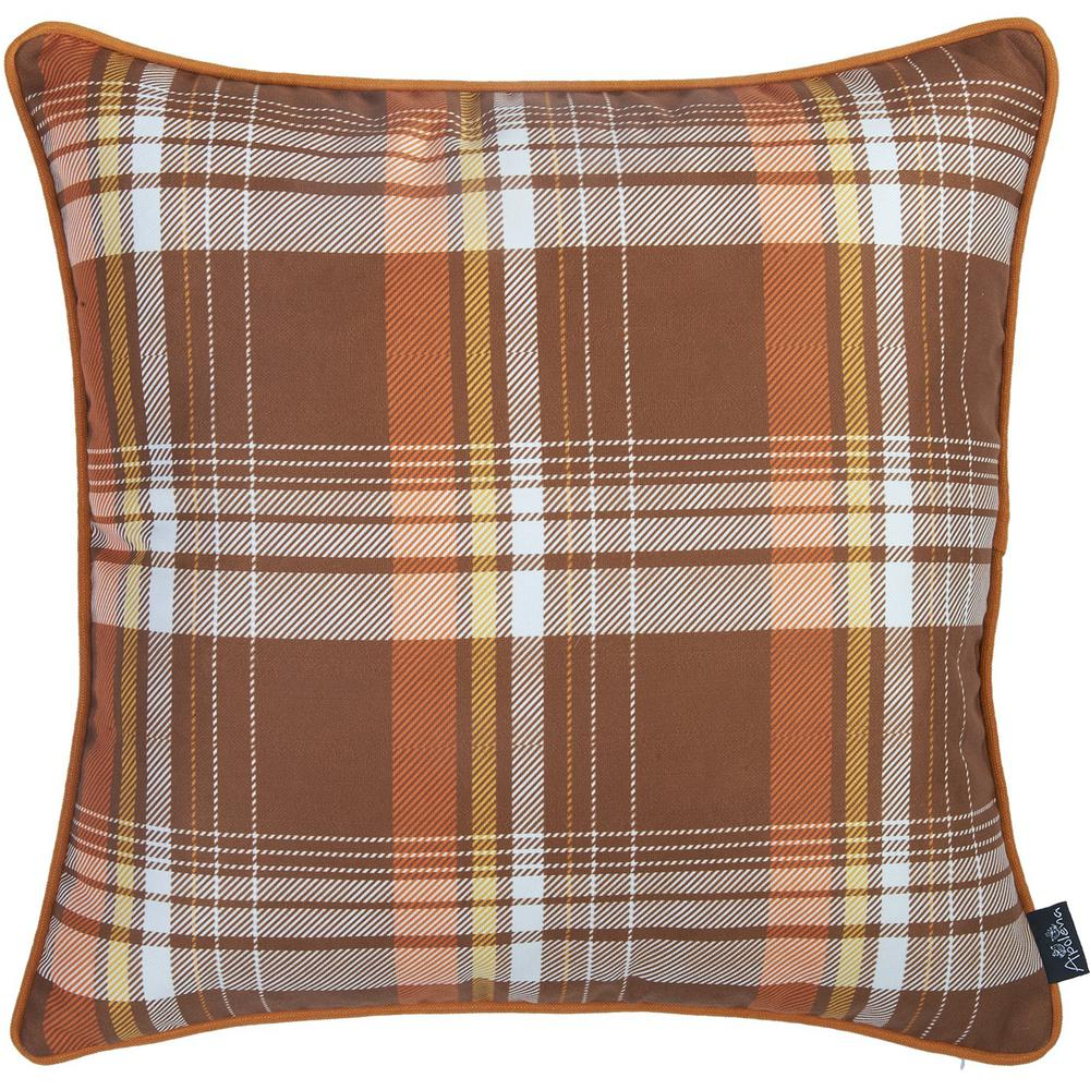 """Set of 2 18"""" Fall Thanksgiving Pumpkin Throw Pillow Cover - 376892. Picture 4"""