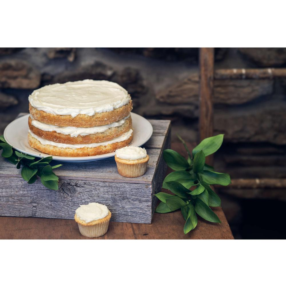 Natural Weathered Gray Cake Stand - 379879. Picture 5