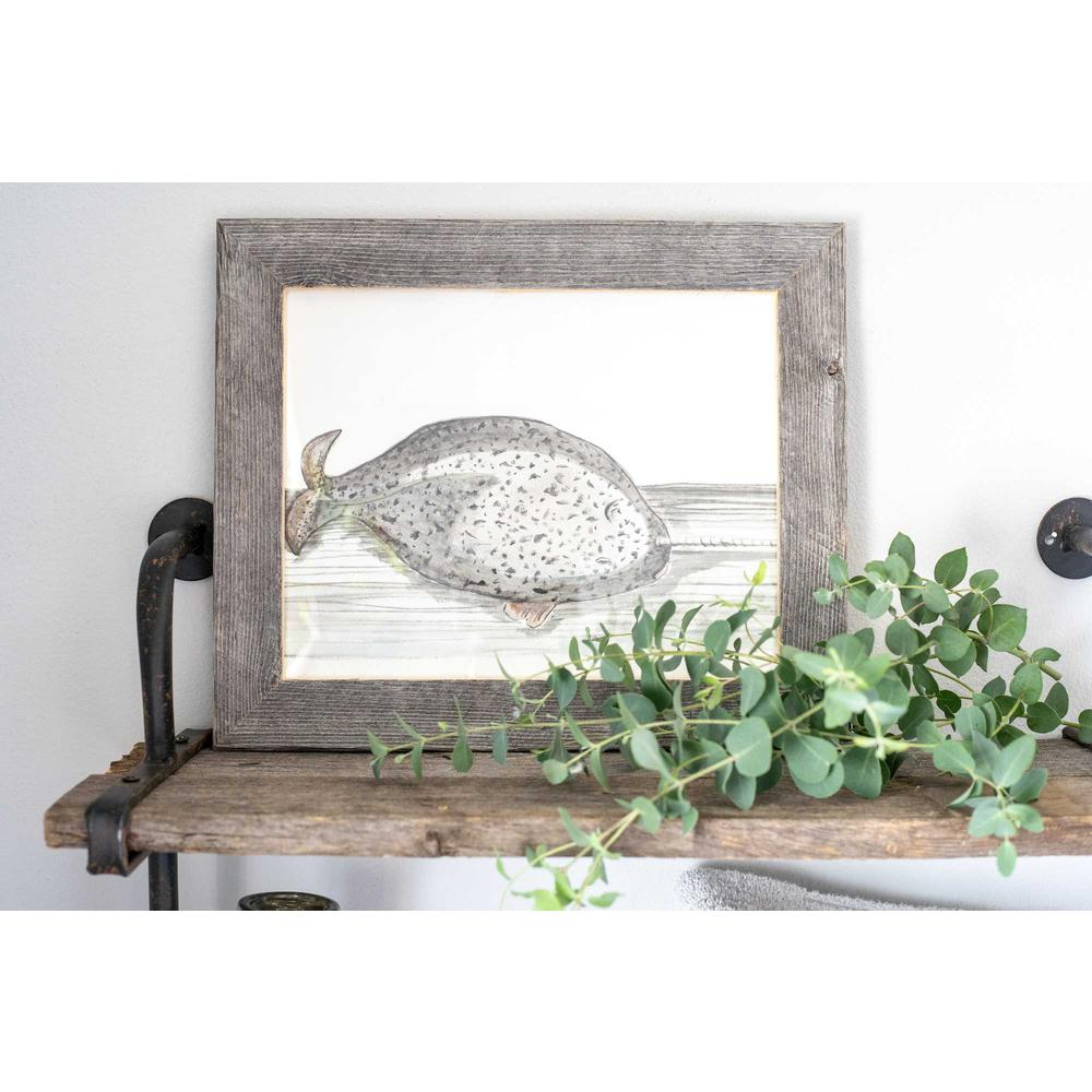 """4"""" x 4"""" Natural Weathered Gray Picture Frame - 379893. Picture 4"""