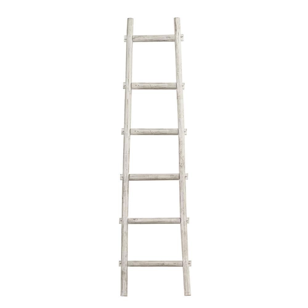 6 Step White Decorative Ladder Shelve - 379919. Picture 1