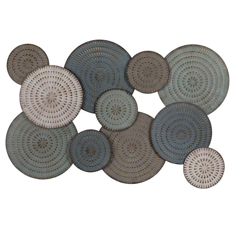 Bohemian Metal Discs Wall Decor - 380766. Picture 3
