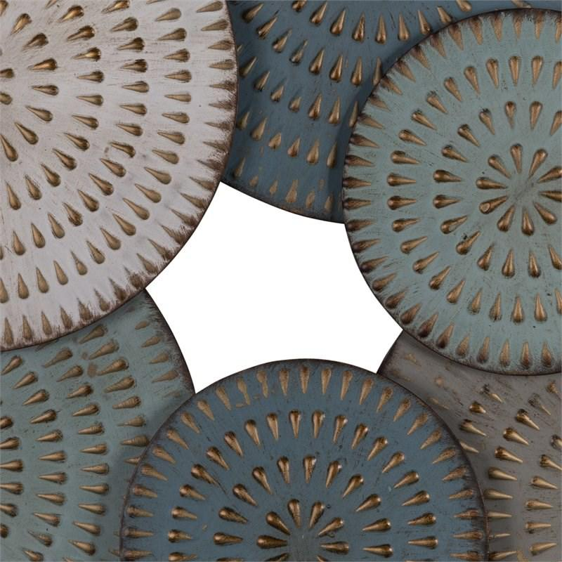 Bohemian Metal Discs Wall Decor - 380766. Picture 4