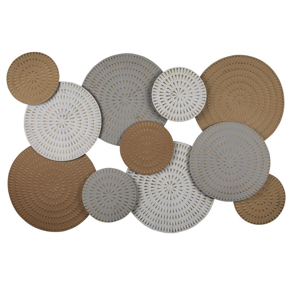 Bohemian Metallics Metal Discs Wall Decor - 380767. Picture 1