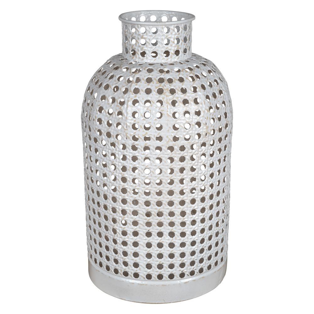 Small Metal Cane Webb Vase Decor - 380778. Picture 1