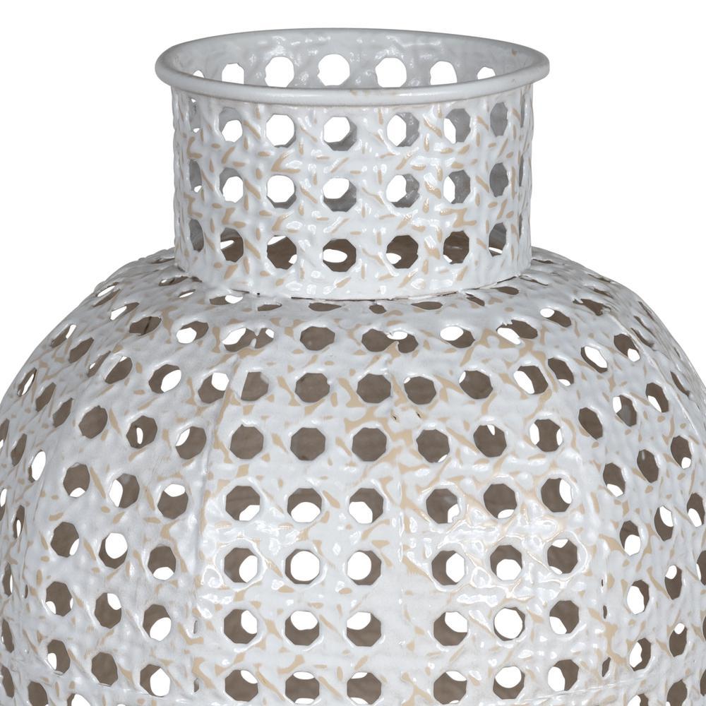 Small Metal Cane Webb Vase Decor - 380778. Picture 2