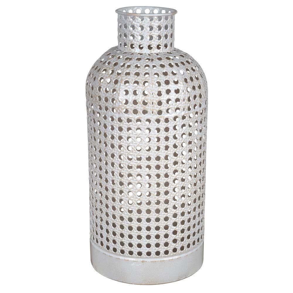 Medium Metal Cane Design Vase Decor - 380779. Picture 1