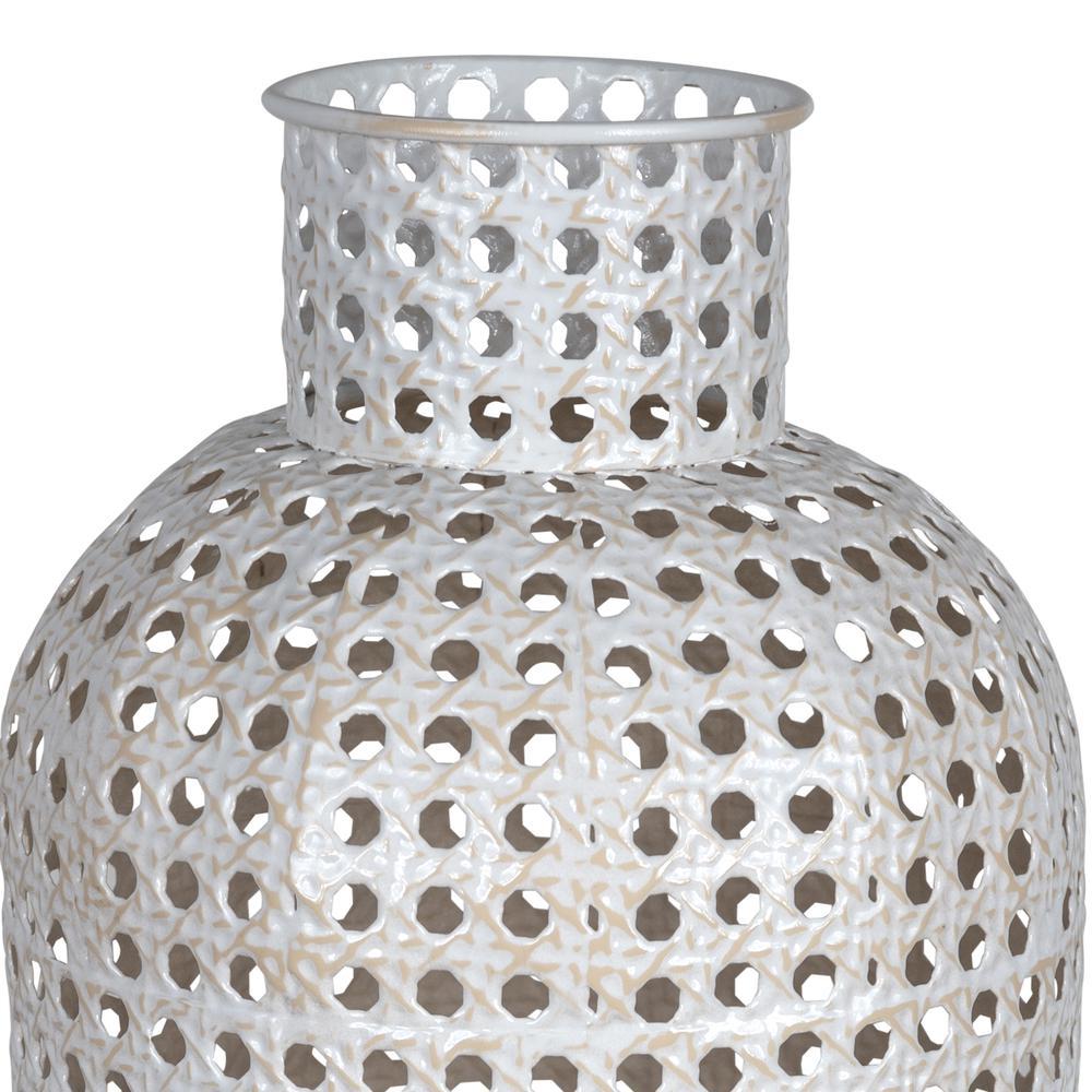 Medium Metal Cane Design Vase Decor - 380779. Picture 2