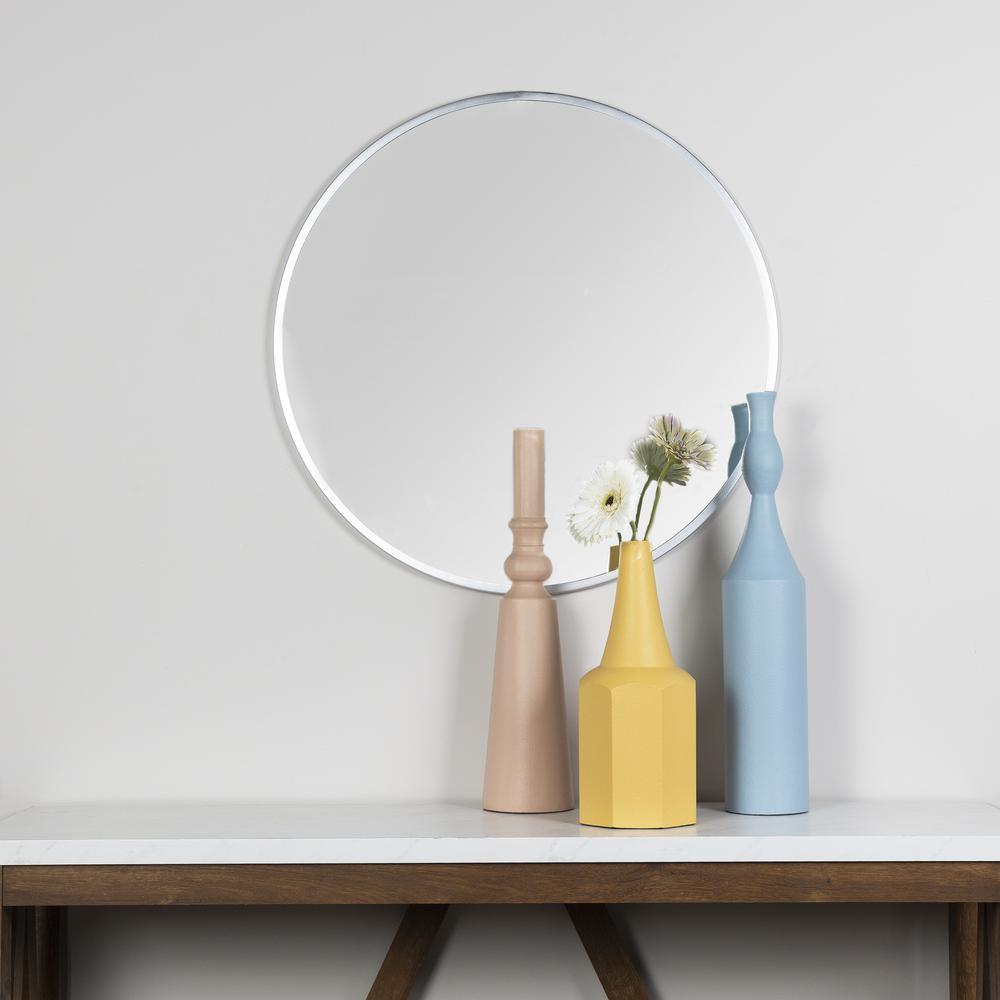 Contemporary Light Pink Metal Decorative Vase - 380785. Picture 2
