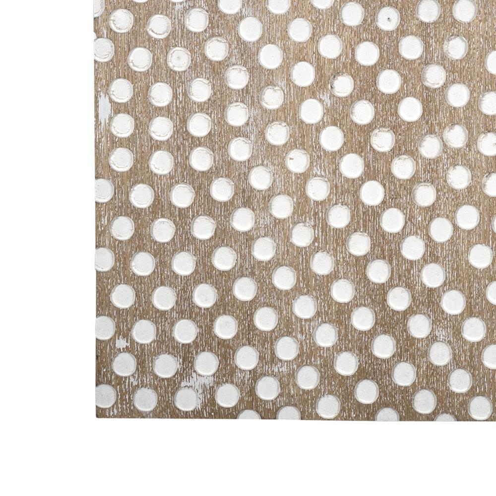 Gold Dotted Pattern Wall Décor - 380799. Picture 1