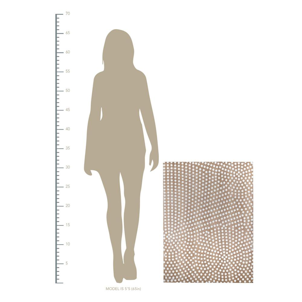 Gold Dotted Pattern Wall Décor - 380799. Picture 2
