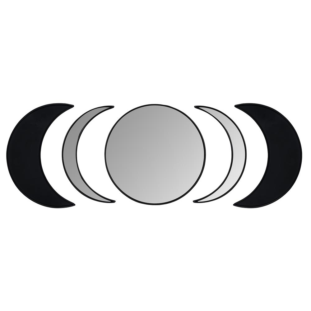 Black Moon Phase Mirror Set - 380808. Picture 1