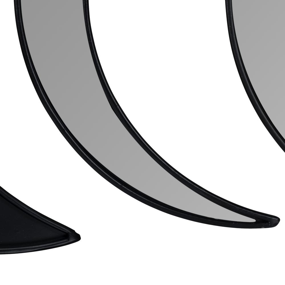 Black Moon Phase Mirror Set - 380808. Picture 2