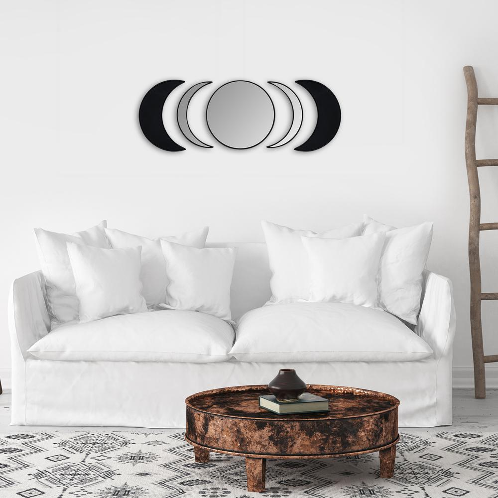 Black Moon Phase Mirror Set - 380808. Picture 5