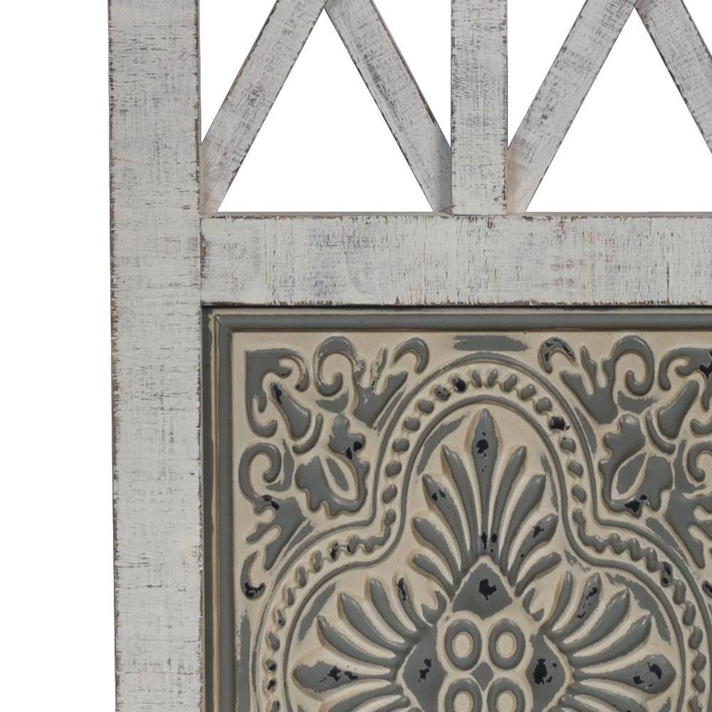 Distressed Full Length Door Panel Wall Decor - 380818. Picture 3