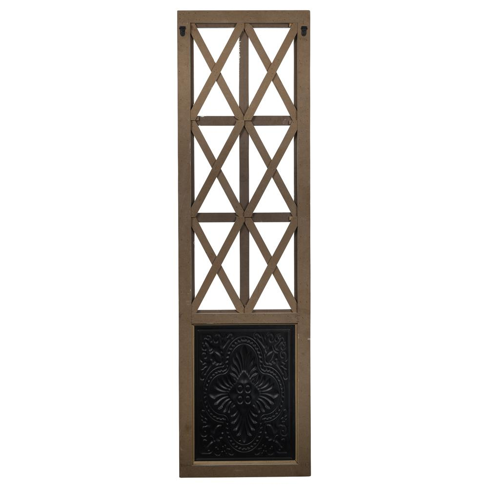 Distressed Full Length Door Panel Wall Decor - 380818. Picture 5