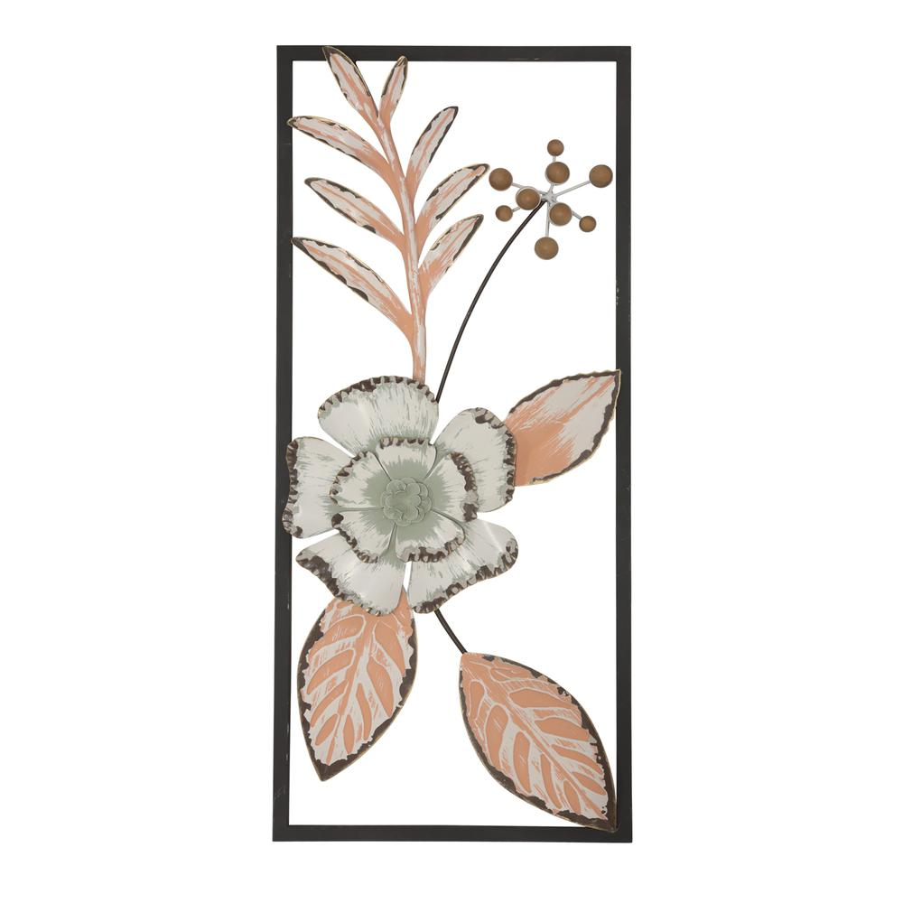 Peace Floral Vines Vertical Wall Decor - 380819. Picture 1