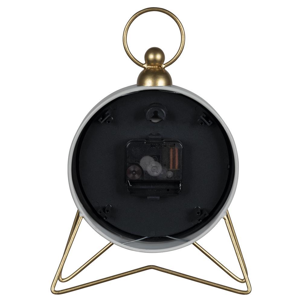 Gray Golden Triangle Desk Clock - 380832. Picture 4