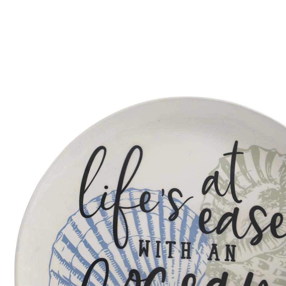 Set of 3 Life's a Breeze Metal Plates Wall Décor - 380844. Picture 2