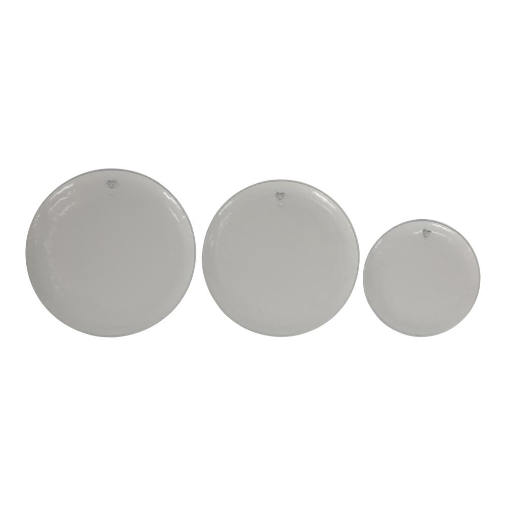 Set of 3 Life's a Breeze Metal Plates Wall Décor - 380844. Picture 4