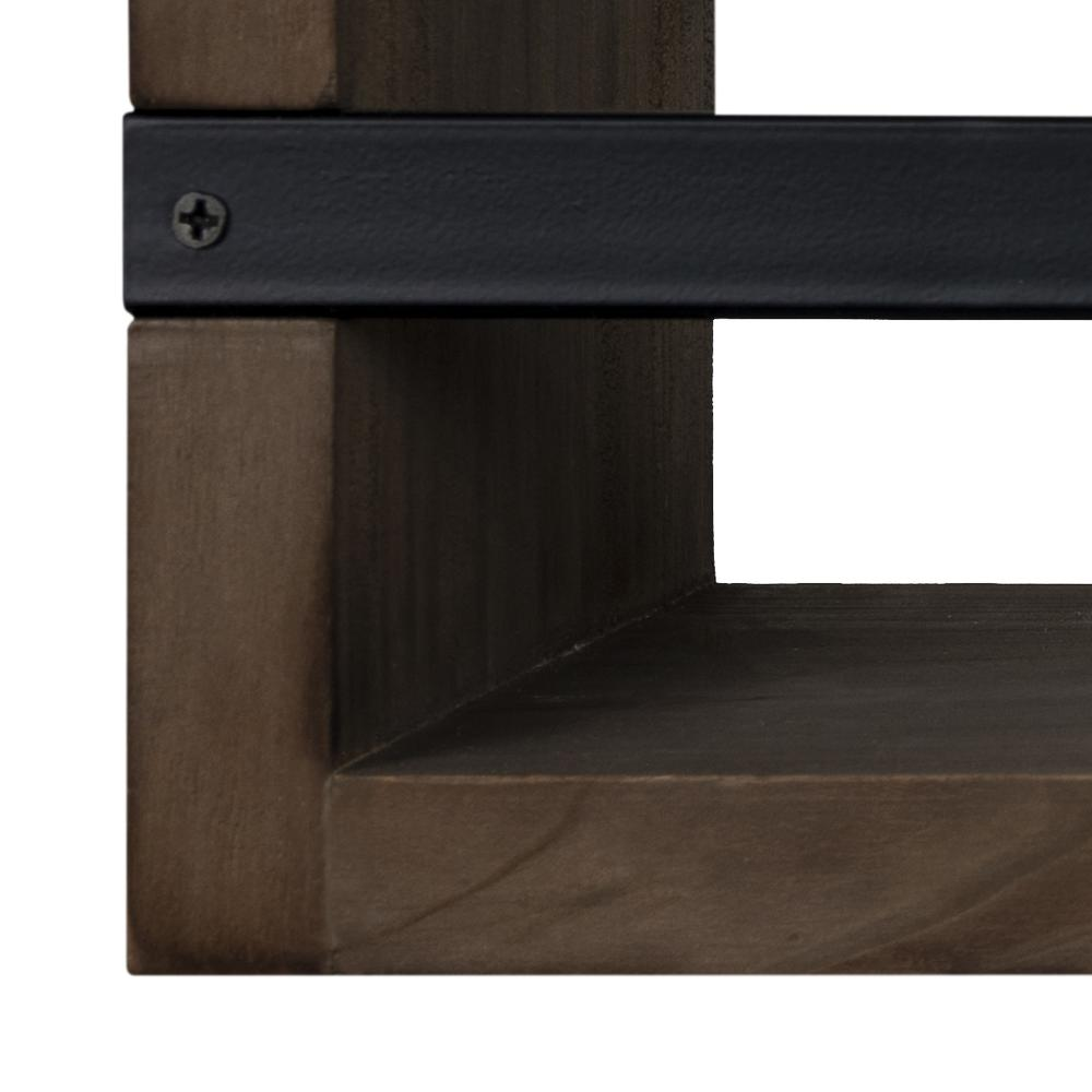 Set of 3 Rustic  Floating Shelves - 380848. Picture 3