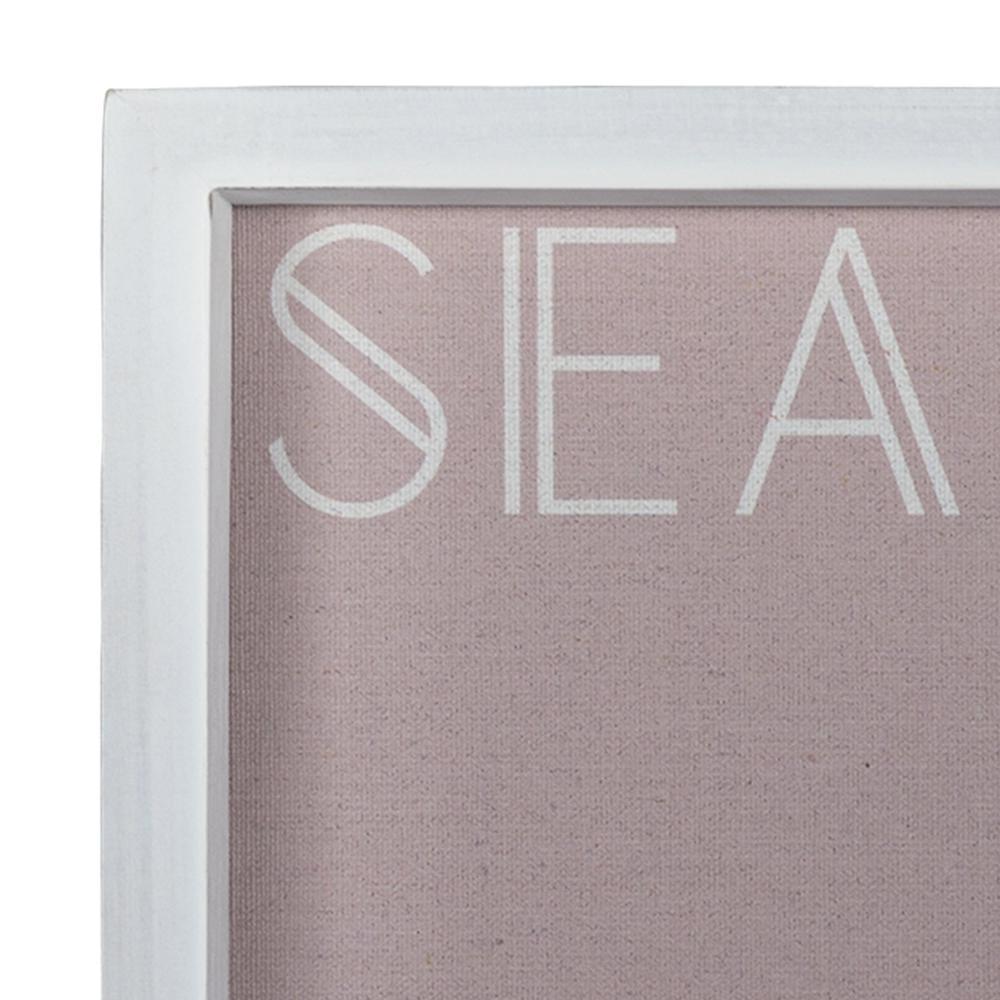 Sea La Vie White Framed Wall Art - 380860. Picture 2