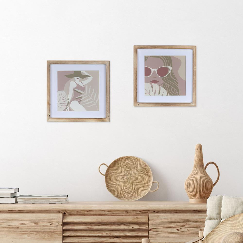 Pretty Lady in Shades Framed Wall Art - 380861. Picture 6