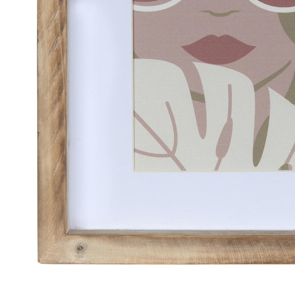 Pretty Lady in Shades Framed Wall Art - 380862. Picture 2