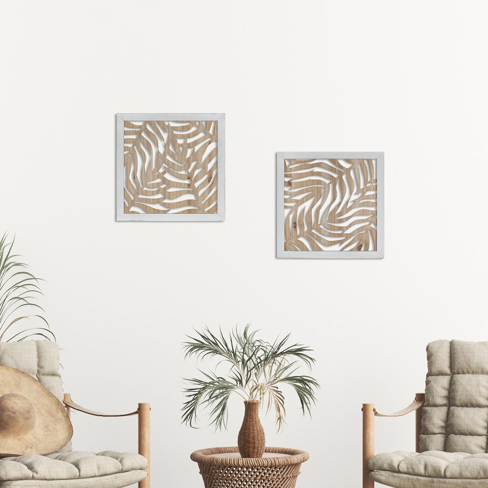 Abstract Natural Palm 2 Wall Decor - 380864. Picture 4