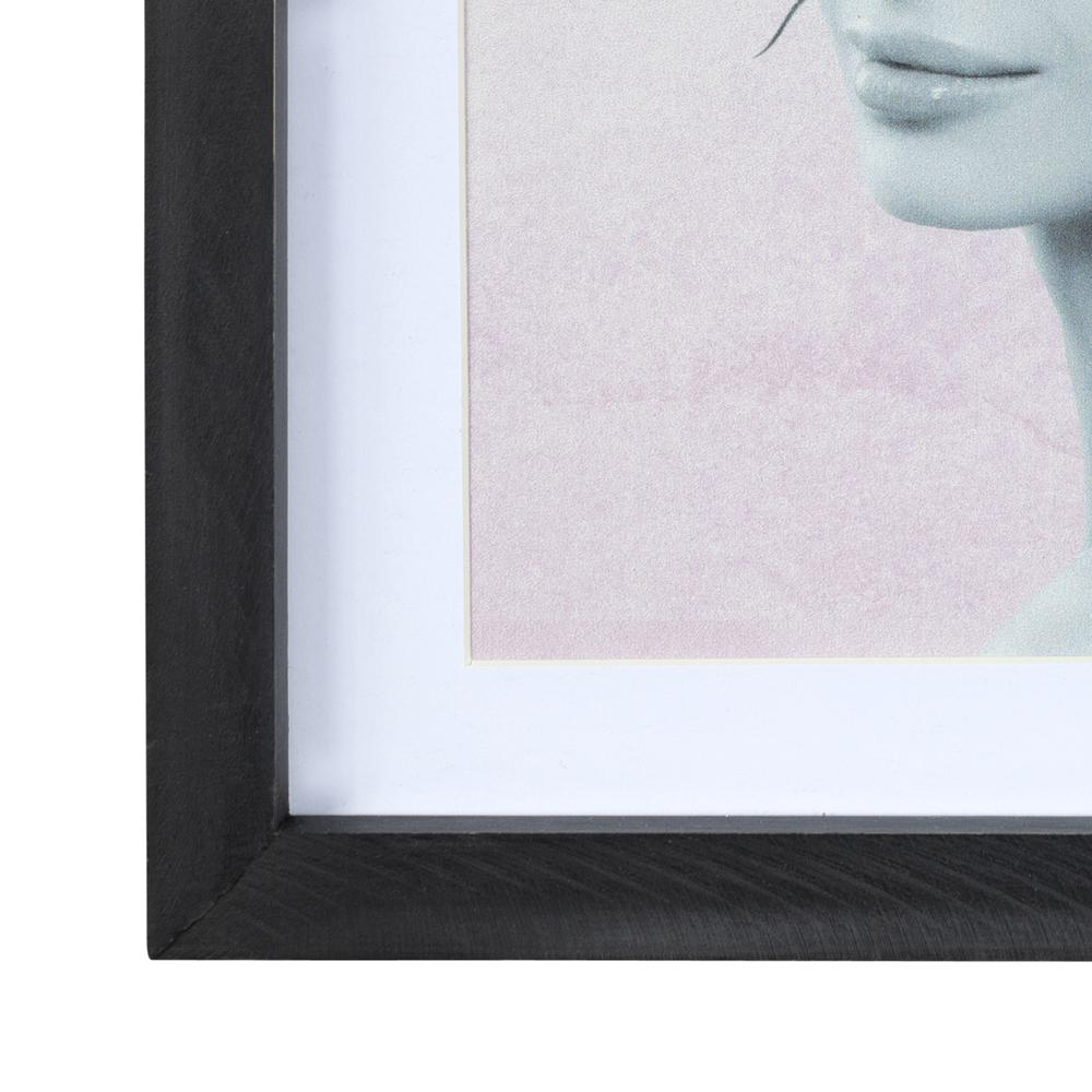 Butterfly and Floral Lady Framed Wall Art - 380865. Picture 1