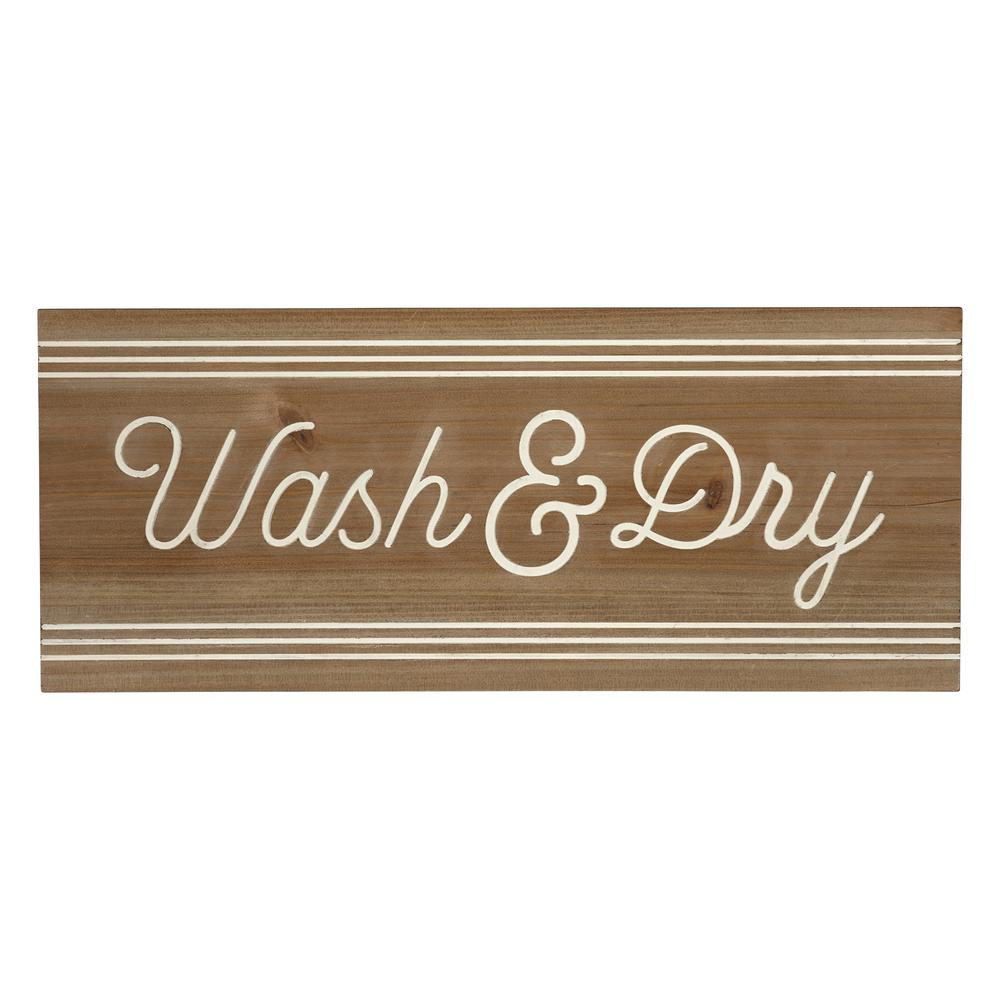 Modern Farmhouse Wash And Dry Wall Art - 380867. Picture 1