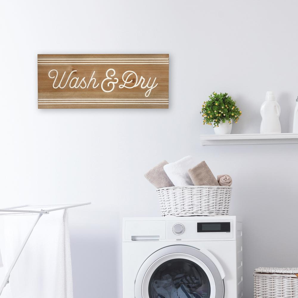 Modern Farmhouse Wash And Dry Wall Art - 380867. Picture 2
