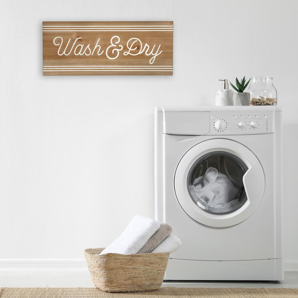 Modern Farmhouse Wash And Dry Wall Art - 380867. Picture 6