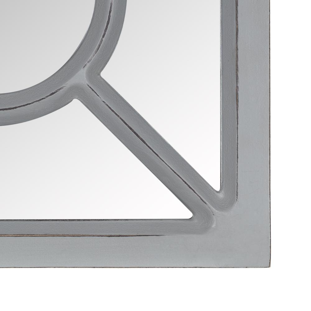 Set of 3 Geometric Wall Mirrors - 380868. Picture 3