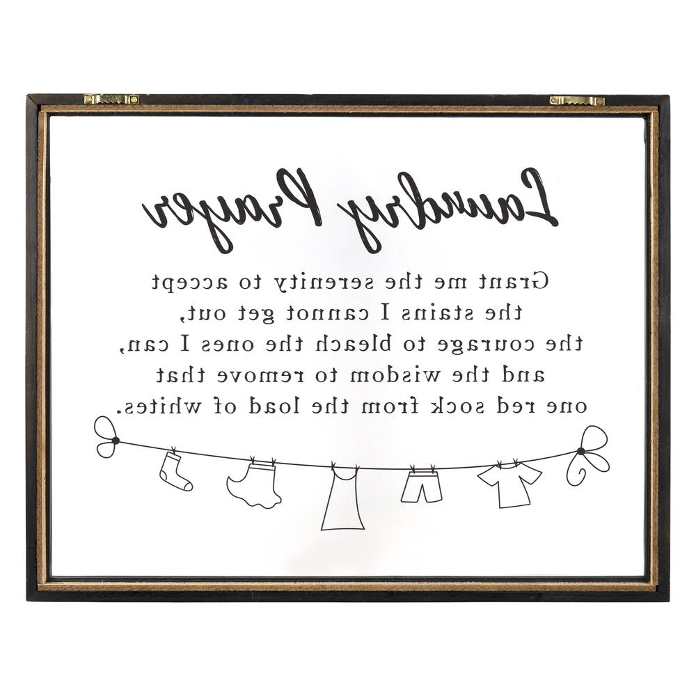 Black And White Laundry Prayer Wall Art - 380873. Picture 5