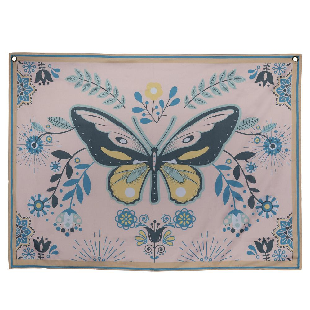 Multi Color Butterfly Tapestry Wall Decor - 380880. Picture 1