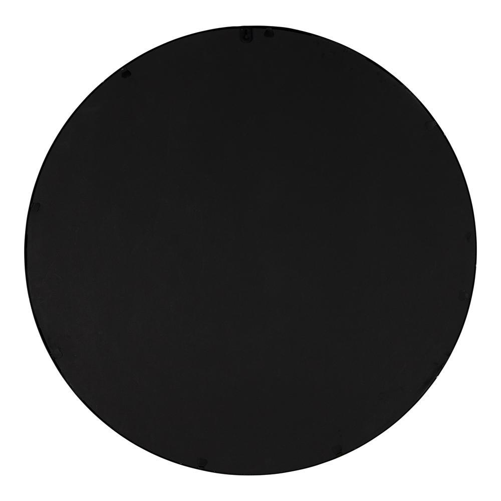 Minimalist Black Round Wall Mirror - 380884. Picture 5