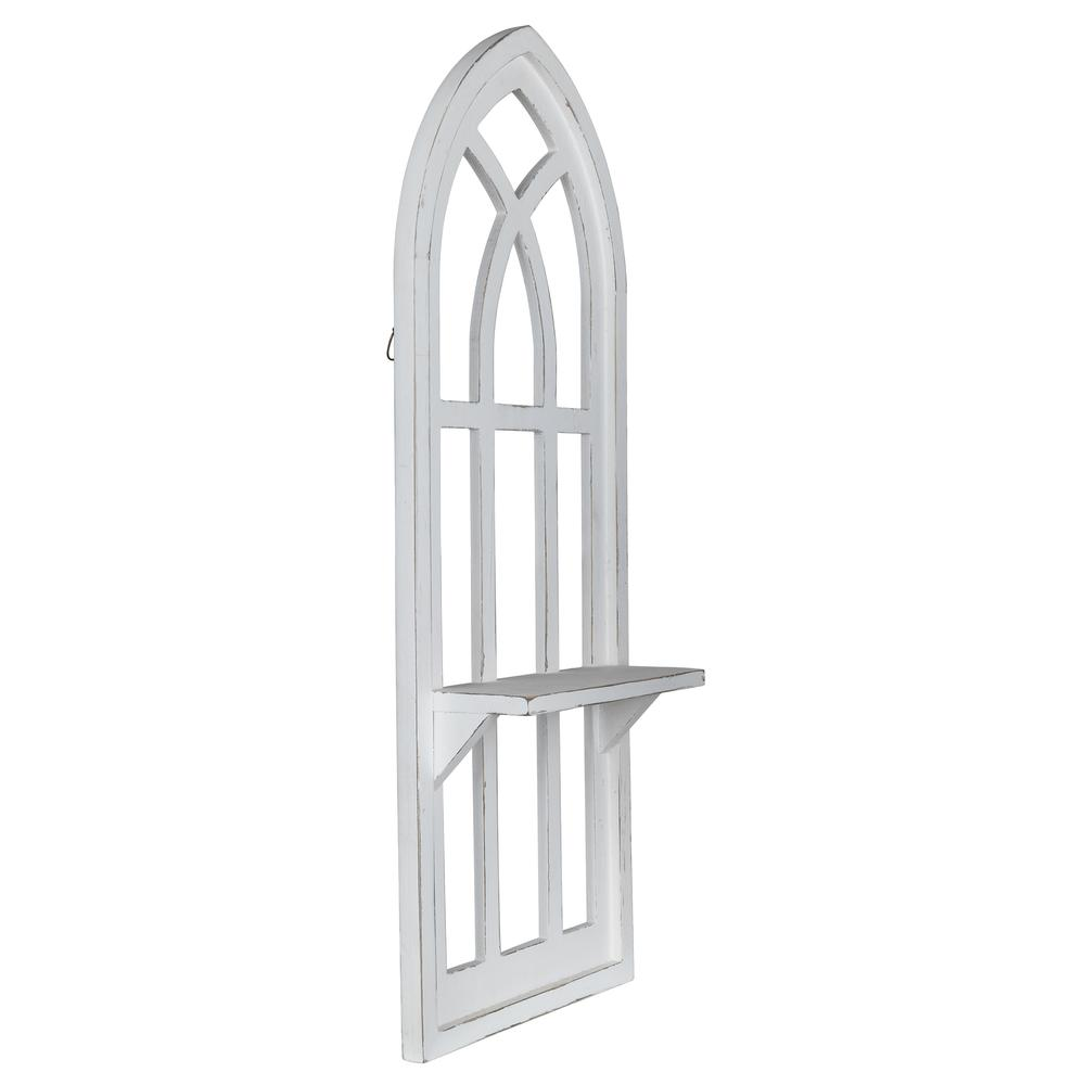 White Window Arch Wall Shelf - 380886. Picture 2