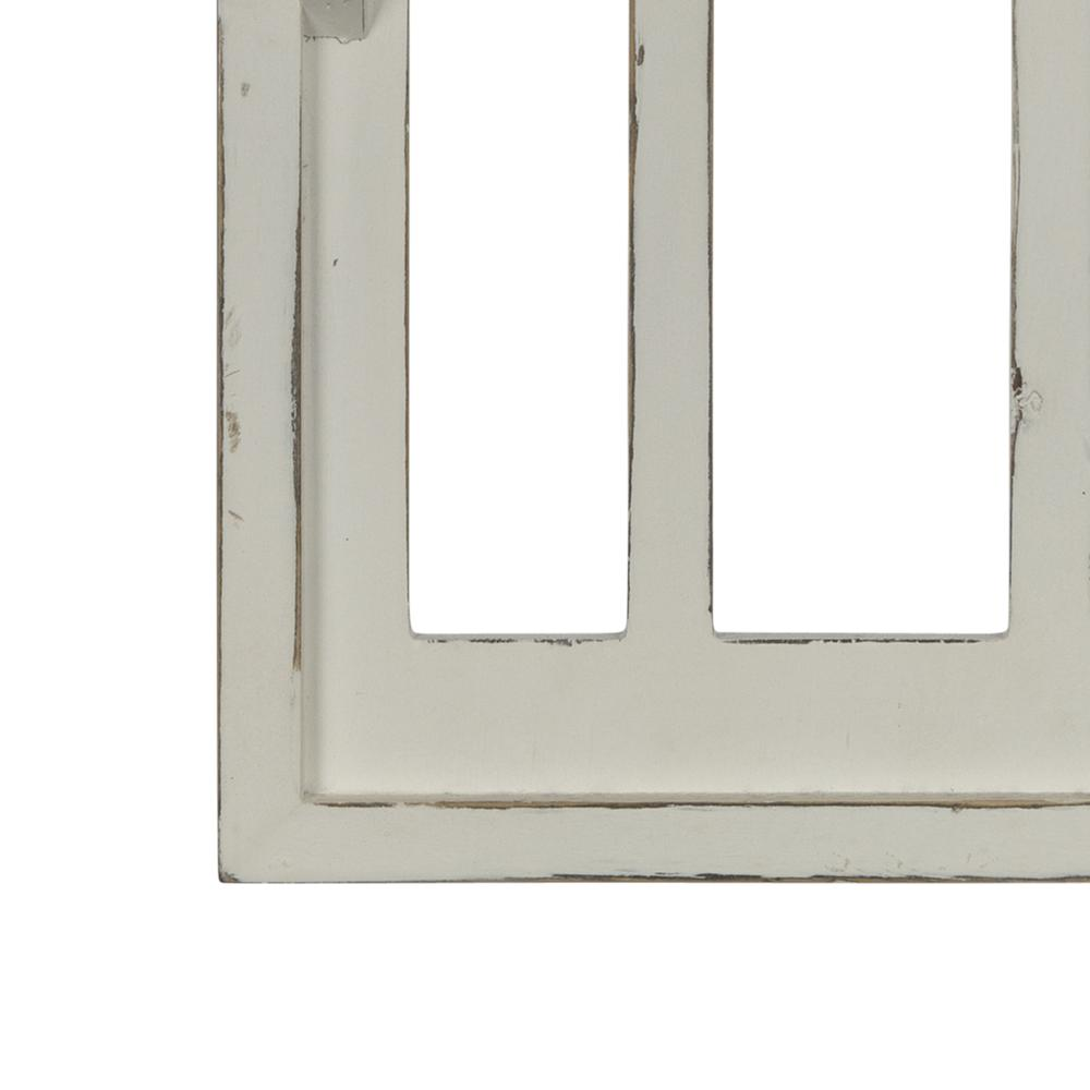 White Window Arch Wall Shelf - 380886. Picture 3