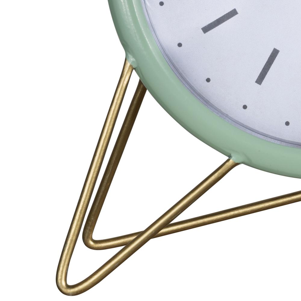 Green Golden Triangle Desk Clock - 380894. Picture 2