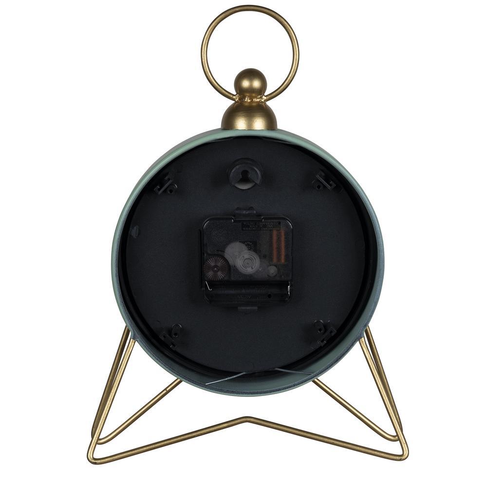 Green Golden Triangle Desk Clock - 380894. Picture 4