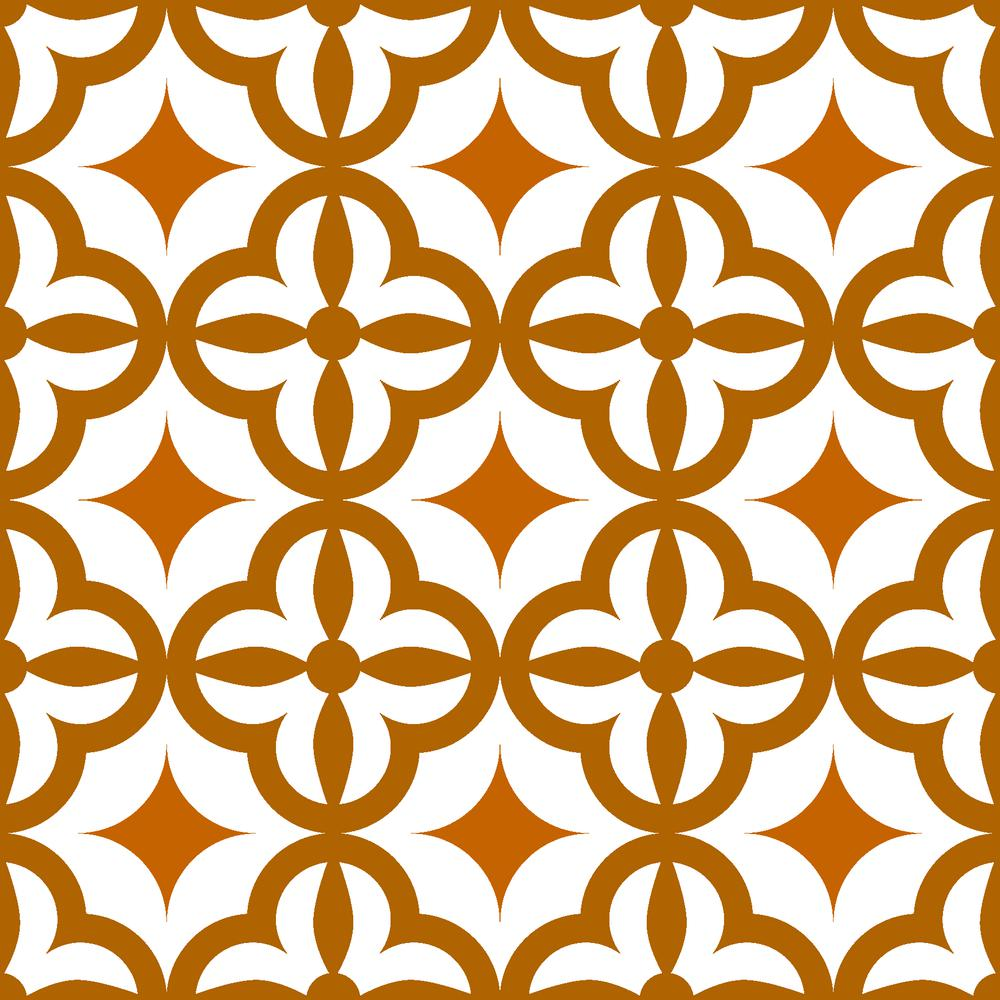 """4"""" x 4"""" Mediterranean Brights Mosaic Peel and Stick Removable Tiles - 382874. Picture 8"""