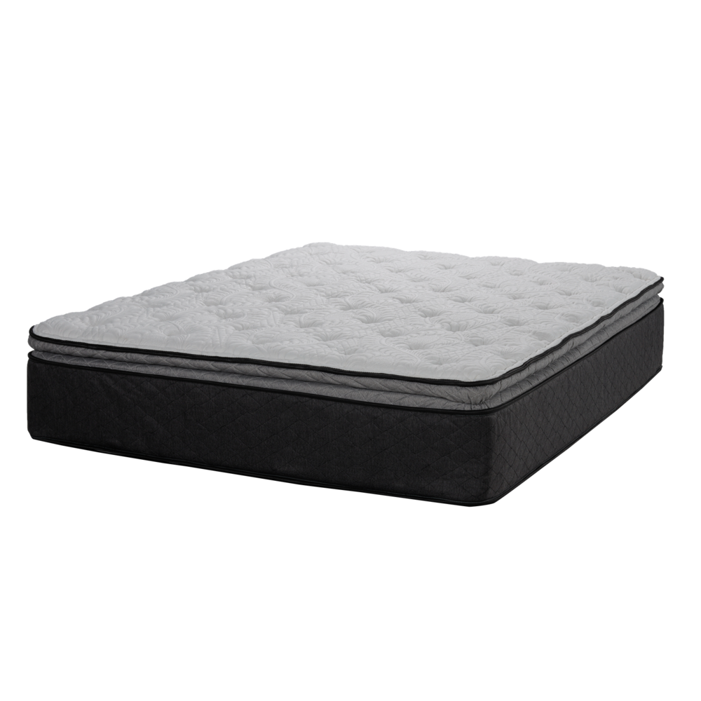"Tiffany Twin XL 13.5"" Plush Pillowtop Hybrid Mattress - 382891. Picture 1"