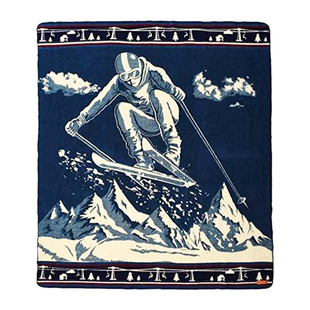 Queen Size Ultra Soft Ski Jumper Handmade Woven Blanket - 383068. Picture 1