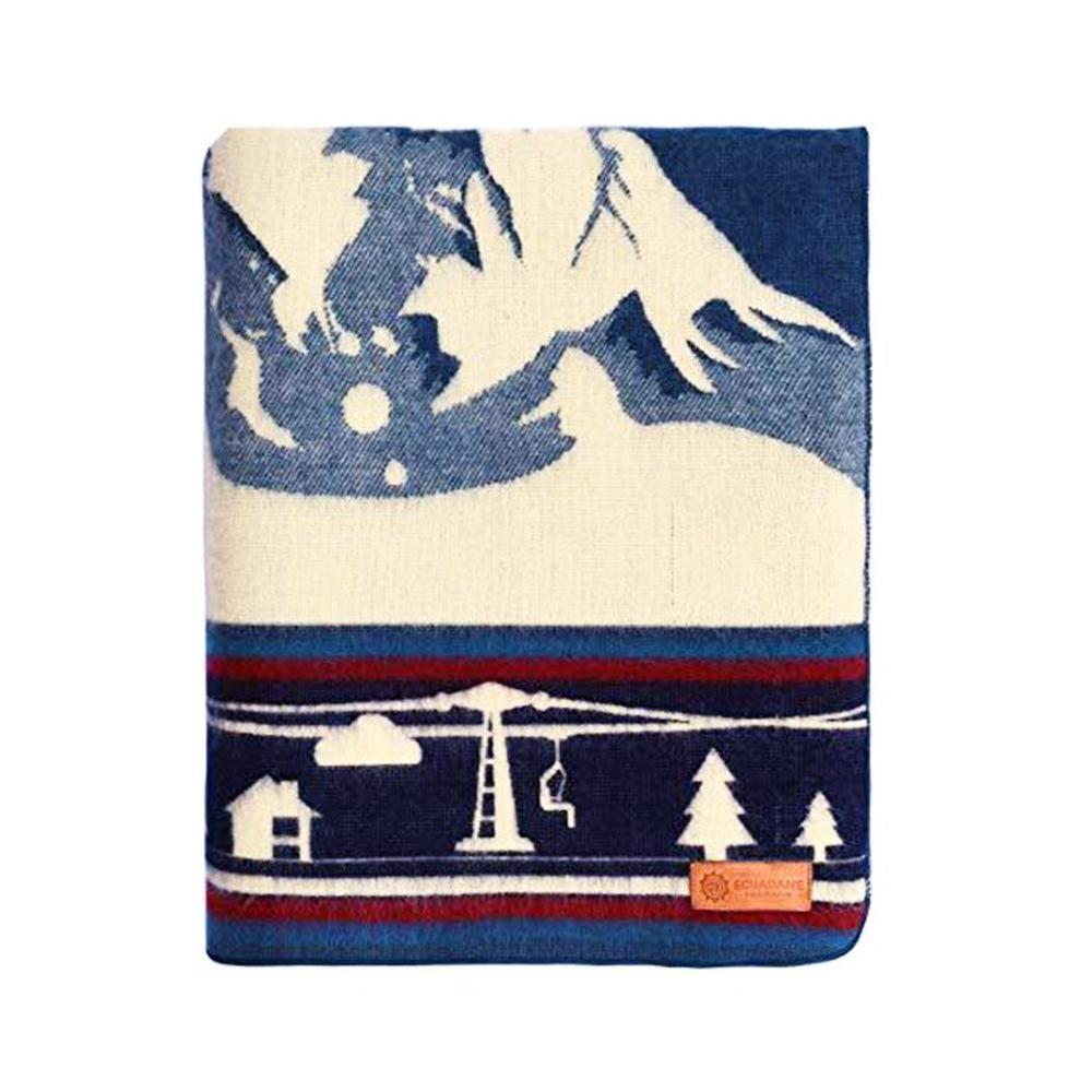Queen Size Ultra Soft Ski Jumper Handmade Woven Blanket - 383068. Picture 2