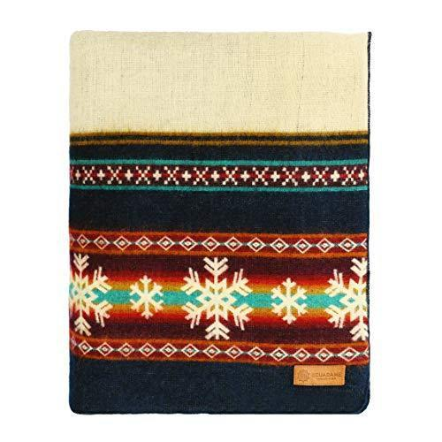 Queen Size Ultra Soft Young Sledders Handmade Woven Blanket - 383070. Picture 2
