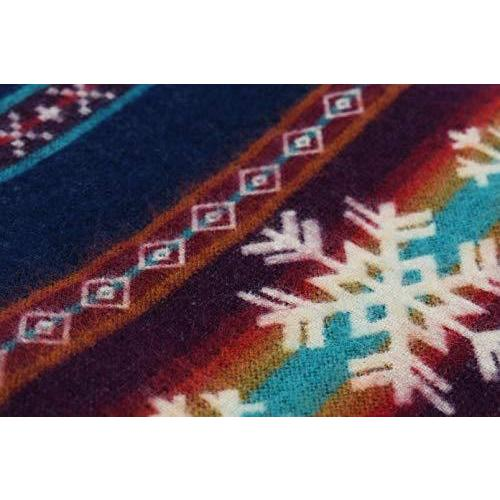Queen Size Ultra Soft Young Sledders Handmade Woven Blanket - 383070. Picture 5