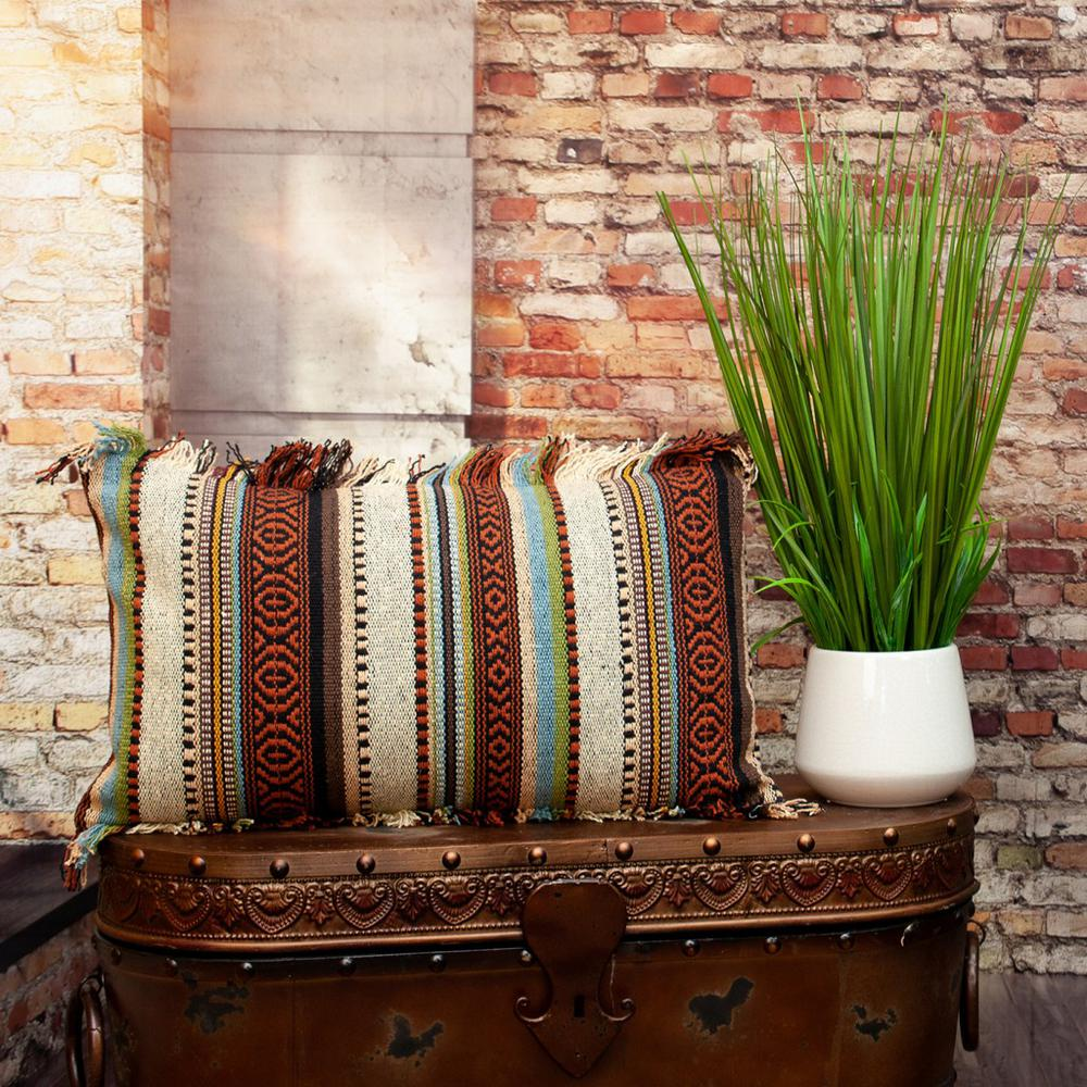 Bohemian Fringe Throw Pillow - 383093. Picture 2