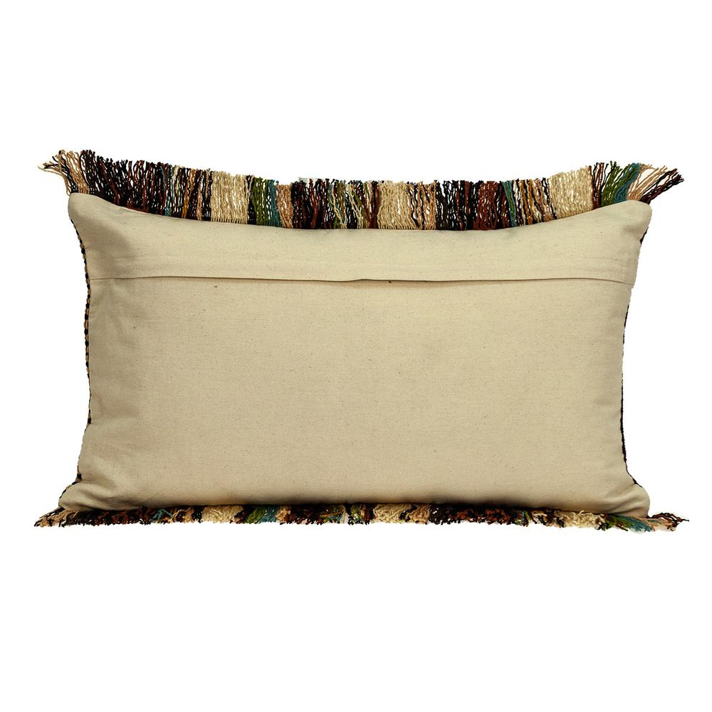 Bohemian Fringe Throw Pillow - 383093. Picture 3